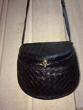 Bottega Veneta Black Woven Cross-body bag