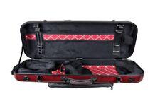 Original Tonareli Viola Oblong Case Vafo 1007 Red Graphite - Authorized Dealer