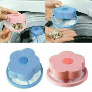 2X Washing Machine Floating Pet Fur Catcher Ball Laundry Hair Lint Remover Tools