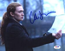 "(SSG) MIREILLE ENOS Signed 10X8 Color ""The Killing"" Photo - PSA/DNA COA"
