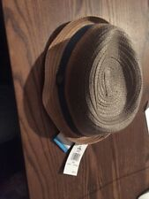 Penguin By Munsingwear Fedora Hat (S/M, Brown)(NWT) MSRP $60
