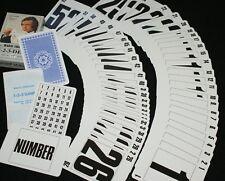 PIATNIK 1-2-3-deck  (Blue) -- high quality number cards, 1-52 plus extras   TMGS