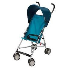 Cosco Umbrella Stroller with Canopy - Blue