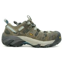 Keen Womens Atlanta ESD Leather Outdoor Steel Toe Work Shoes Size US 8.5 M EU 39