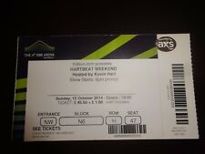 Kevin Hart - Hartbeat Weekend - Used Concert Ticket -  London October 2014