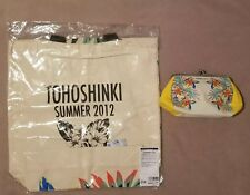 Tohoshinki A-nation SUMMER 2012 ECO BAG & Clasp Pouch TVXQ Yunho changmin dbsk