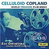 Aaron Copland - Celluloid Copland: World Premiere Film Music (CD 2001) EXCELLENT