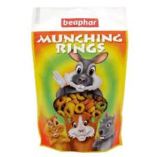 Beaphar Munching Rings Small Animal Rabbit Guinea Pig Snack Chew Treats 75gm