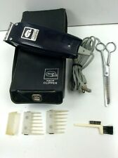 Vintage Sunbeam Vista Electric Hair Clipper Model 80 w/Accessories