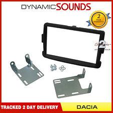 CT23DC04 Black Double Din Fascia Adaptor Panel Kit For Dacia Duster 2010 Onwards