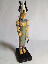 SATET Figura Dios Antiguo Egipto 10-15 cms Resina pintado a mano