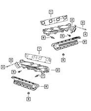 Genuine Mopar Exhaust Manifold Gasket Left Side 5045495AA