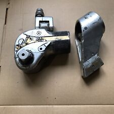 Hytorc Hy 3mxt Sa Hydraulic Torque Wrench With Reaction Arm 1 Drive Untested