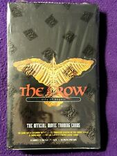 THE CROW CITY OF THE ANGELS MOVIE TRADING CARDS SEALED BOX 36/8 SEALED PACKS