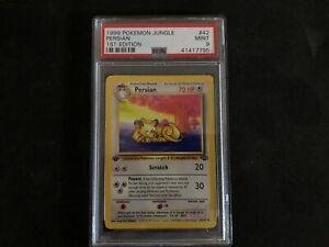 1999 Pokemon 1st Edition Persian 42/64 JUNGLE PSA 9 MINT