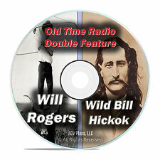 Will Rogers, Wild Bill Hickok, 426 Old Time Radio, All Known Shows mp3 DVD F78