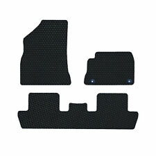 Peugeot 5008 2009-2017 LUXURY Tailored Rubber Car Mats in Black