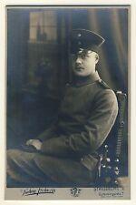 Elsass JUNGER SOLDAT / YOUNG SOLDIER Strassburg * Vintage Cabinet Photo
