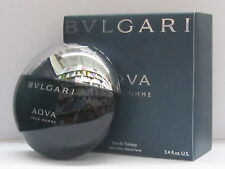 Bvlgari Aqva Pour Homme For Men 3.3 oz Eau de Toilette Spray New In Box Sealed