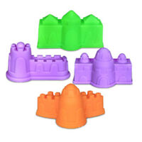 4Pcs Plastic   Building Model Mold Beach Fun Toys For Kids Children Toy  №[