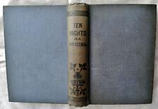 Ten Nights in a Bar-Room (T.S. Arthur), Hole in the Pocket (Aunt Hattie)