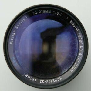 Vivitar Series 1 70-210mm Lens For Canon