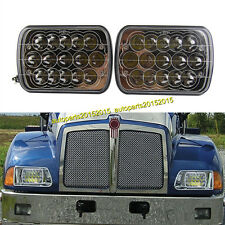 Kenworth T300 LED Headlights Headlamps LH RH Low/High Bulb Kit 1997-2010 A Pair