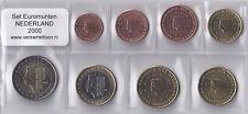 NEDERLAND UNC EURO SET 2000 - serie van 8 munten: 1 cent t/m 2 euro
