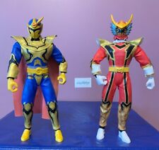 Vtg Power Rangers Mystic Force Red Dragon Fire Solaris Knight Talking Figure LOT