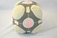 """6"""" NECA  Portal Critters Companion Cube Gray w/Pink Hearts"""