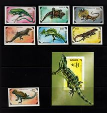 Mongolia #2005-12 (1991 Lizards set and  sheet) VF MNH  imperforate