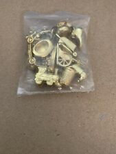 1998 Monopoly Deluxe Edition 12 Gold Tokens Set Replacement Parts Pieces NEW