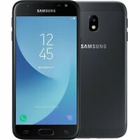 SAMSUNG GALAXY J3 (2017) SM-J330 BLACK FACTORY UNLOCKED SMARTPHONE 16GB grade A
