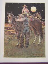 "Buckeye Blake ""West Of The Moon"" Limited Edition Signed Print w/Original Folder"