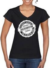 18th Birthday Gift Present Year 2002 Aged To Perfection Womens V Neck T-Shirt