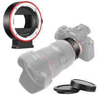 Neewer AF Lens Mount Adapter Aperture Control for Canon EF/EF S Lens to Sony E