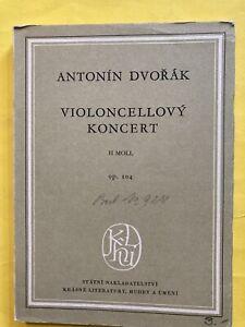 Dvorak Violoncello Konzert Taschen Partitur Noten Notenbuch