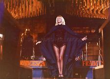 SEXY MIREILLE DARC LA VALISE 1973 VINTAGE PHOTO ORIGINAL LEGGY