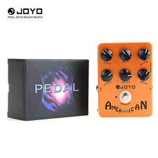 JOYO JF-14 American Sound Guitar Simulator Effects Pedal Amplifier Voice Control