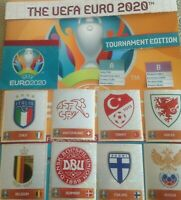 PANINI EURO 2020 TOURNAMENT EDITION STICKER COLLECTION   7-230 BUY 3 GET 10 FREE