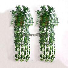 Künstlich Botanik Ivy Trauben Leaf Garland Pflanzen Reben Laub Garden Dekor New