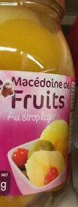 lot De 6 Bocaux De Macédoine De Fruits De 1 Kg Chacun DLC Longue