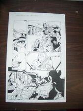 COMMON GROUNDS #3 PG 12-ORIGINAL COMIC ART--DAN JURGENS FN Comic Art