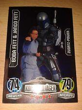 Force Attax Star Wars Movie 1 Zusatz-Power Nr.220 Boba & Jango Fett  Sammelkarte
