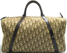 Christian Dior Vintage Boston Bag Monogram Tasche Speedy KEEPALL Braun Brown