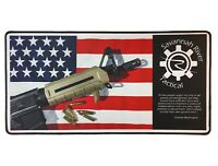 "Gun Cleaning Mat Rifle/Pistol 12"" x 24""- Plus FREE Tool Bag - 2nd Amendment"