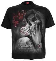 SPIRAL DIRECT DEAD KISS T-Shirt Tattoo/Sugar Skull/Demon/Love/Goth/Rose/Tee/Top