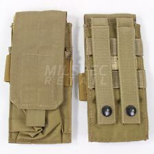 Eagle Industries M-4 Single 1x2 Magazine Pouch Khaki Tan MOLLE SFLCS 2007 DEVGRU