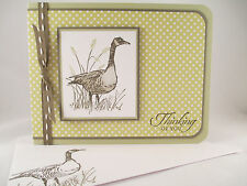 """Stampin Up """"Wetlands"""" Handmade Any Occasion Card"""