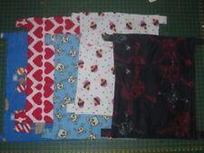 Bulk Listing of 20x Flannelette Pocket Hammocks (~25cm x 30cm)